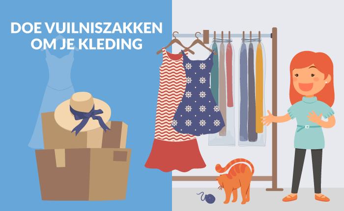 kleding verhuizen
