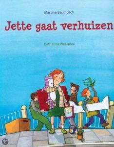 Kinderboek 'Jette gaat verhuizen'