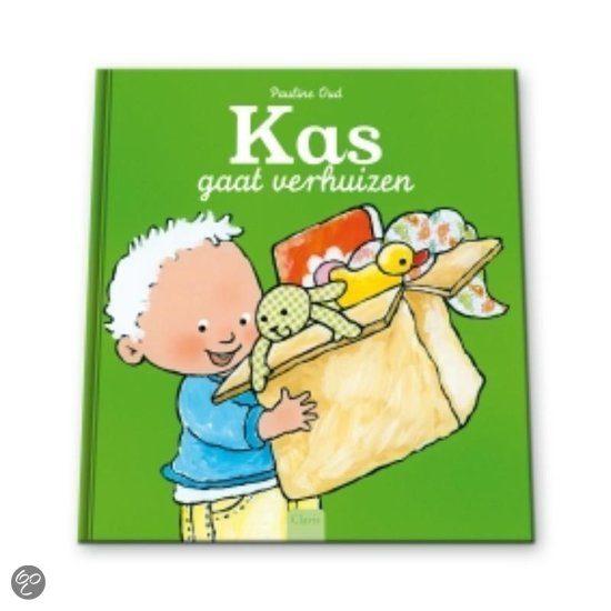 Kinderboek 'Kas gaat verhuizen'