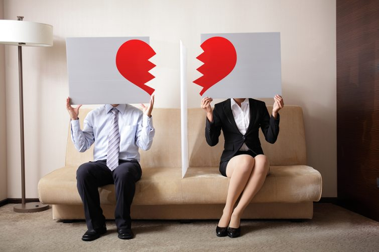 verhuizen na een scheiding