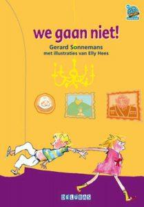 Kinderboek 'We gaan niet'